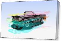 Impala Car As Canvas