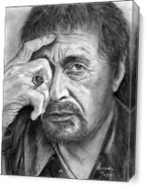 Al Pacino As Canvas