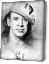 Stevie Ray Vaughn As Canvas
