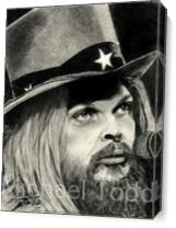 LEON Russell As Canvas