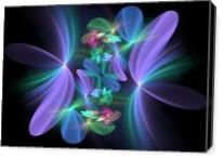 Ethereal Flowers - Gallery Wrap