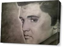 Elvis Presley As Canvas