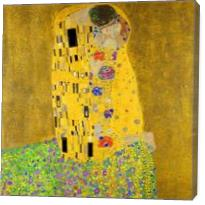 Gustav Klimt The Kiss - Gallery Wrap