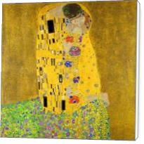 Gustav Klimt The Kiss - Standard Wrap