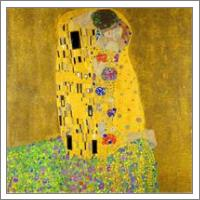 Gustav Klimt The Kiss - No-Wrap