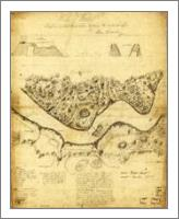 Original West Point Survey Map October 24th-27th 1783 - No-Wrap