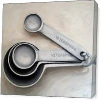 Measuringspoons As Canvas