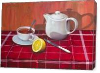 Tea With Lemon Comp.#3 - Gallery Wrap
