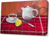 Tea With Lemon Comp.#3 - Gallery Wrap Plus