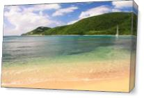 Reef Bay Beach Seascape St John Virgin Islands Photograph By Roupen Baker As Canvas