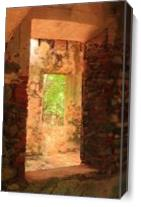 Windows Through An Old Stone Sugar Mill St John USVI Photograph By Roupen Baker As Canvas