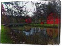 Woodland Barn - Gallery Wrap