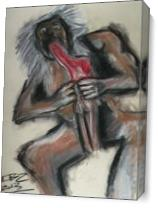 A Study Of Goya's Saturn Devouring His Son. As Canvas
