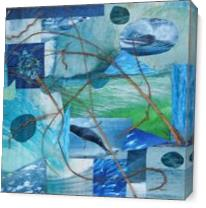 Ocean Melody I As Canvas