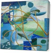 Ocean Melody II As Canvas