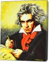 Ludwig Van Beethoven - Gallery Wrap