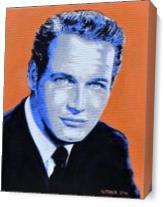 Paul Newmann As Canvas