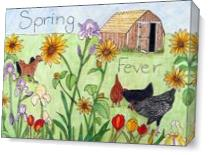 Spring Fever As Canvas