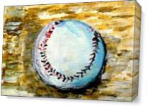 The Baseball As Canvas