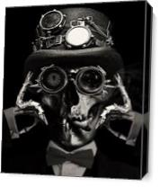 Steampunk Deceased As Canvas