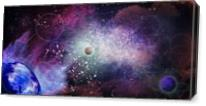 Get Lost In The Cosmos As Canvas