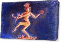 Untitled(Nataraja) As Canvas