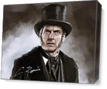 Doctor Who - Digital Oil Painting As Canvas