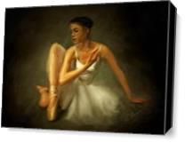 Ballerina As Canvas
