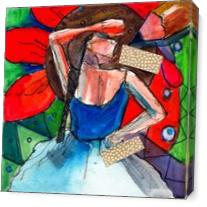 Doodle Degas As Canvas