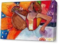 Myra Floral Ballet As Canvas