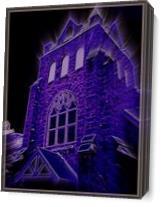 Dark Church As Canvas