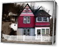 Holly House As Canvas