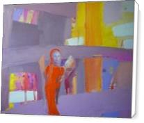"""Orange Angel"".2012. Oil On Canvas. Cm.40x50. - Standard Wrap"