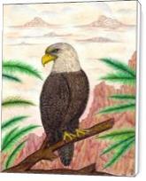 Eagle Of Freedom - Standard Wrap