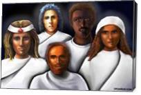 Spiritual Rescuers - Gallery Wrap