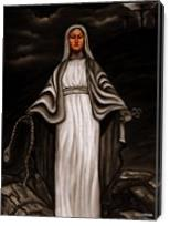 Black White Mary - Gallery Wrap