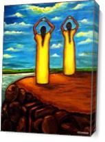 Faith And Hope As Canvas