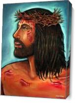 Passion Of Christ As Canvas