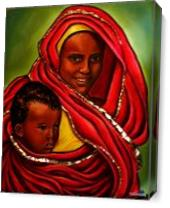 Motherly Love As Canvas