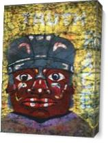 The Gurdian-Olmec As Canvas