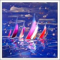 Regatta In Blue 16626 - No-Wrap