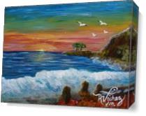 La Playa As Canvas