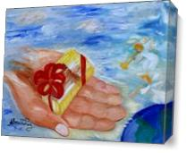 The Wonderful Gift As Canvas