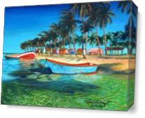 Santo Domingo As Canvas