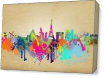 Paris As Canvas