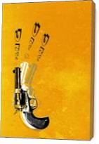 Gun - Gallery Wrap