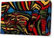 Zebrad 1 As Canvas