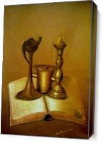 Book Of Memories As Canvas