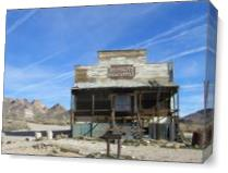 Frontier General Store As Canvas