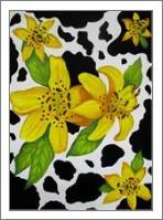 Floral Cow Print - No-Wrap